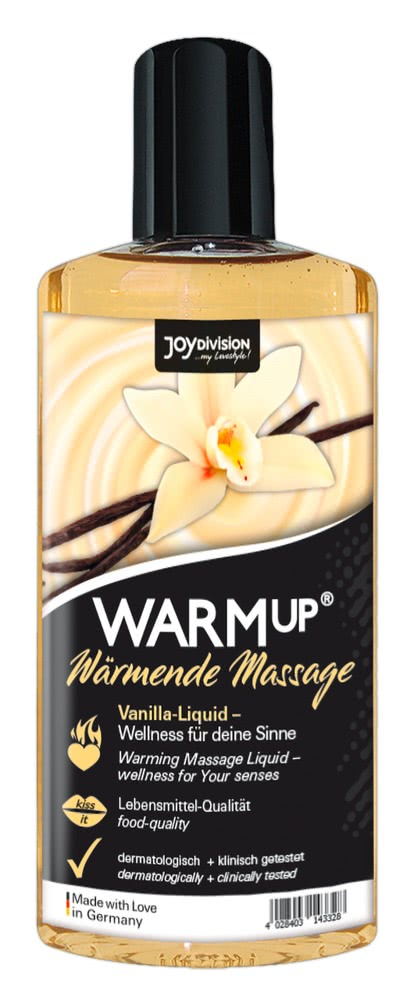 WARMup Vanilla 150 ml