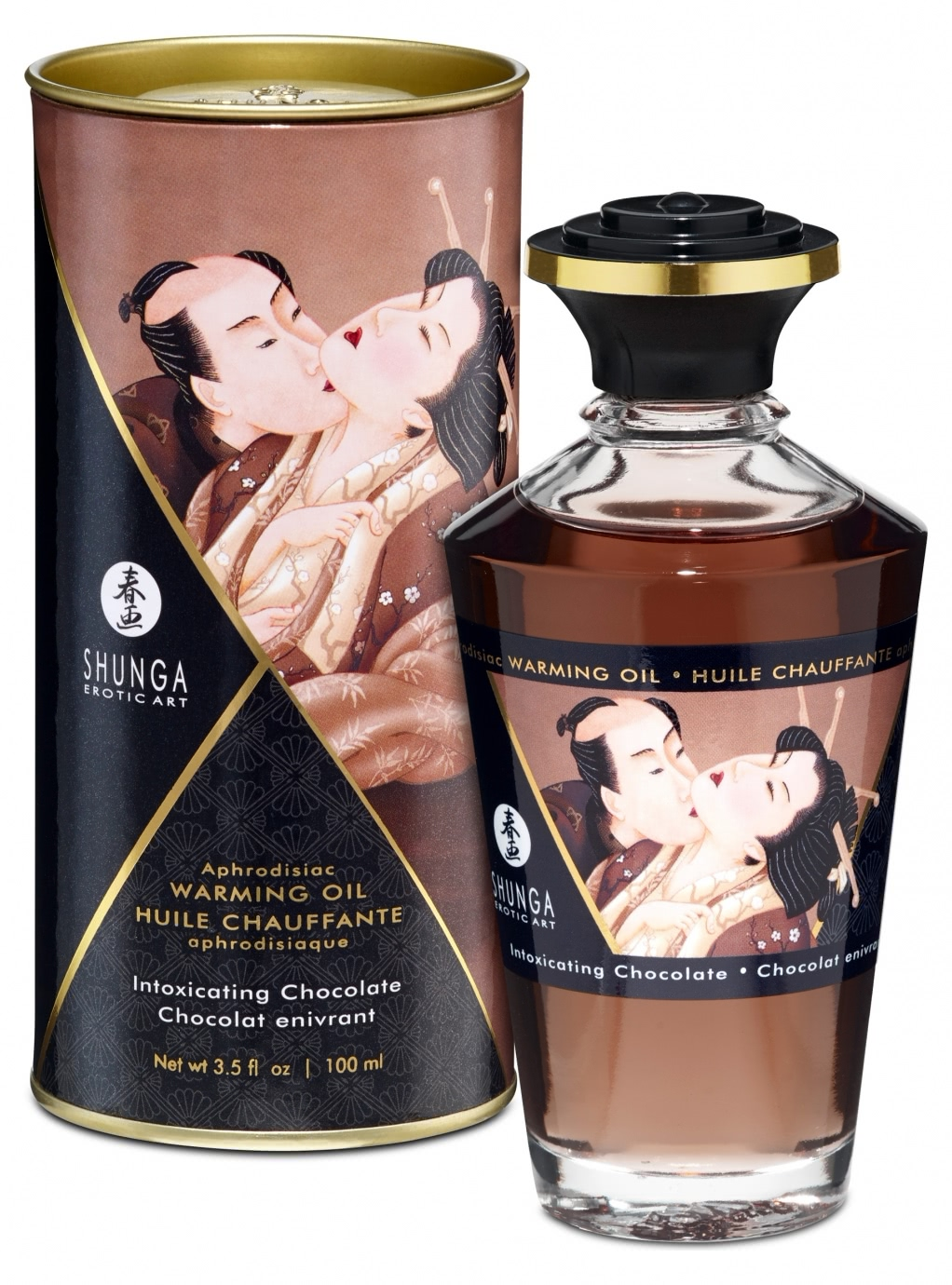 Aphrodisiac Warming Oil Chocolate 100ml