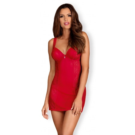 Chemise Obsessive Rougebelle Rosu S-M